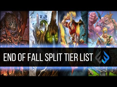CURRENT Smite Tier List: END OF FALL SPLIT and HUGE OCTOBER GIVEAWAY
