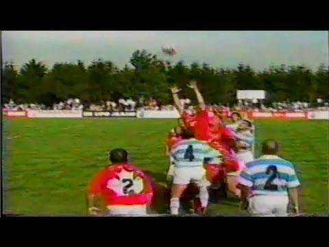 Canada vs Argentina 1996