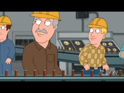 Family Guy - Peter drinks 600 Gallons of Beer
