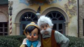 Personnages et Characters Disneyland Paris Janvier 2014 Disney Pinocchio Mulan Buzz
