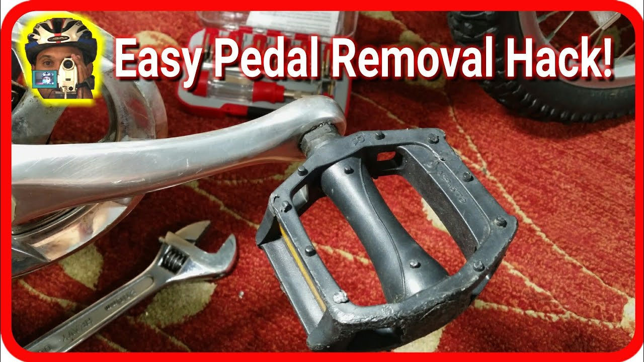 How To Remove Bike Pedals From A Bike Quickly Easily No Pedal