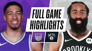 KINGS at NETS | FULL GAME HIGHLIGHTS | February 23, 2021