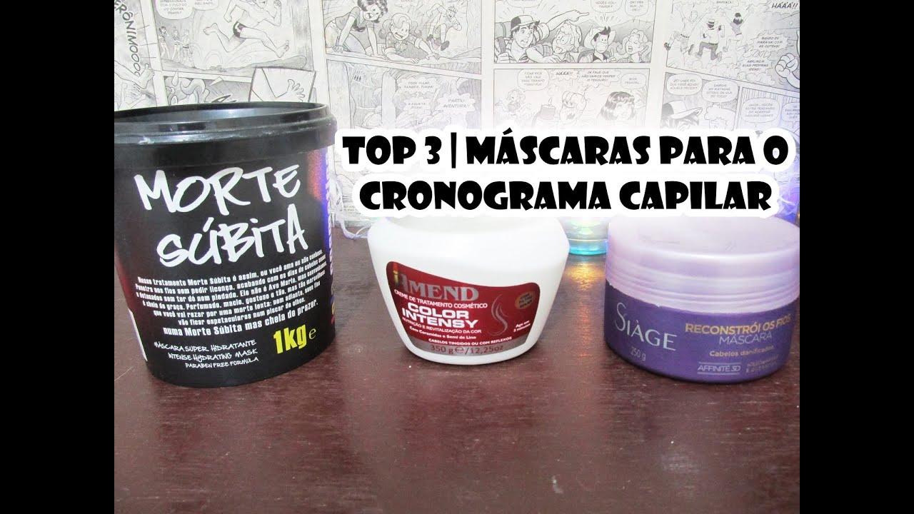 Well-known Top 3   Máscaras Para o Cronograma Capilar   Hidratação   Nutrição  RG97