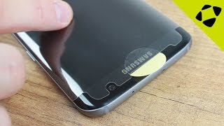 Spigen Crystal HD Samsung Galaxy S7 Edge Curved Screen Protector Installation Guide & Review