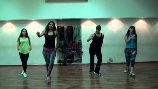 Juan Magan feat Belinda Si No Te Quisiera Zumba ® fitness class with Ayelet