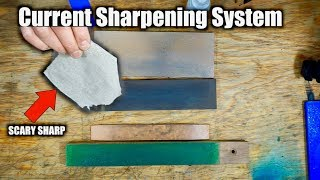 My Current Knife Sharpening System 2019