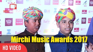 Dangal Singers Sartaj and Sarwar Khan At irchi Music Awards 2017 | Viralbollywood