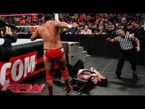Ricardo Rodriguez vs. Alberto Del Rio: Raw, Oct. 7, 2013