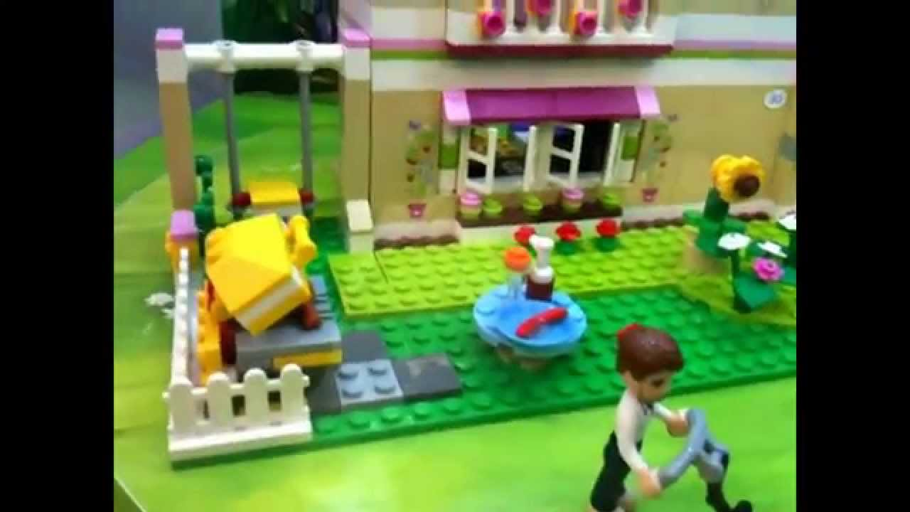 lego friends maison house youtube. Black Bedroom Furniture Sets. Home Design Ideas