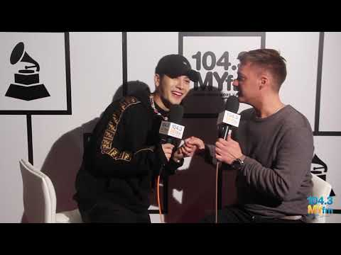 GOT7's Jackson Wang Talks Music & Fashion With Dave Styles At The GRAMMYs!