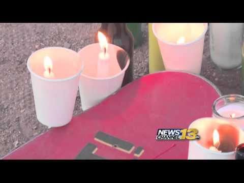 Vigil for man killed at Gold Camp Road