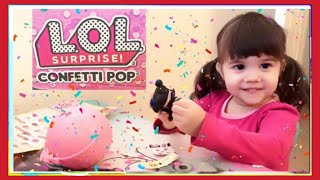 We Won a Giveaway   Thank you Jelly Frog Toys l Unboxing LOL Surprise Doll Confetti Pop Series 3