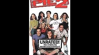 Opening To American Pie 2:Unrated Edition 2002 VHS