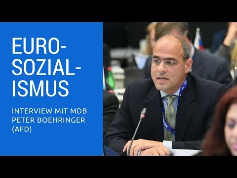 Eurosozialismus: Wie die EZB die Währung zerstört – Interview mit MdB Peter Boehringer (AfD)