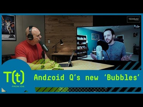 Android Q's new 'Bubbles' feature | TECH(talk)