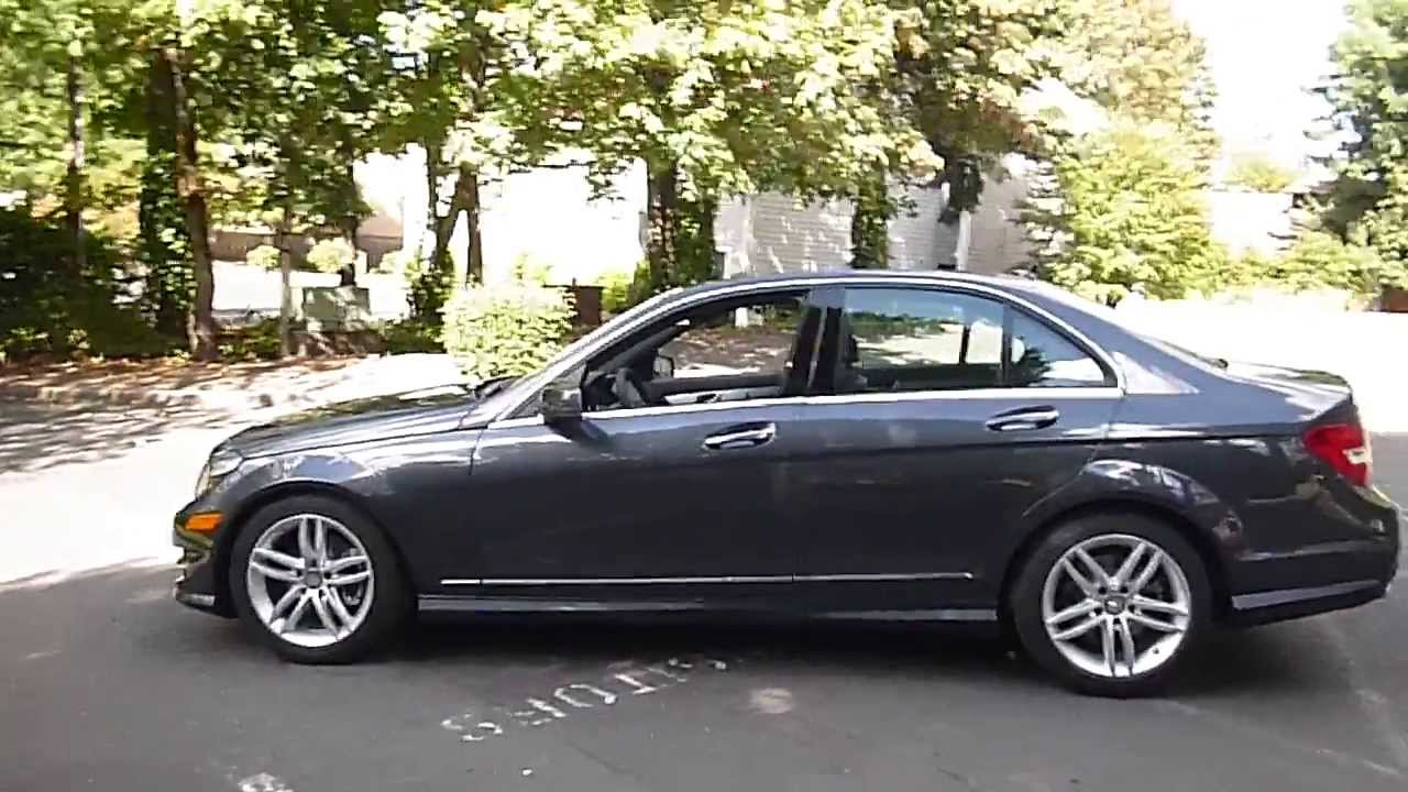 overview of a 2013 mercedes benz c250 sedan youtube. Black Bedroom Furniture Sets. Home Design Ideas