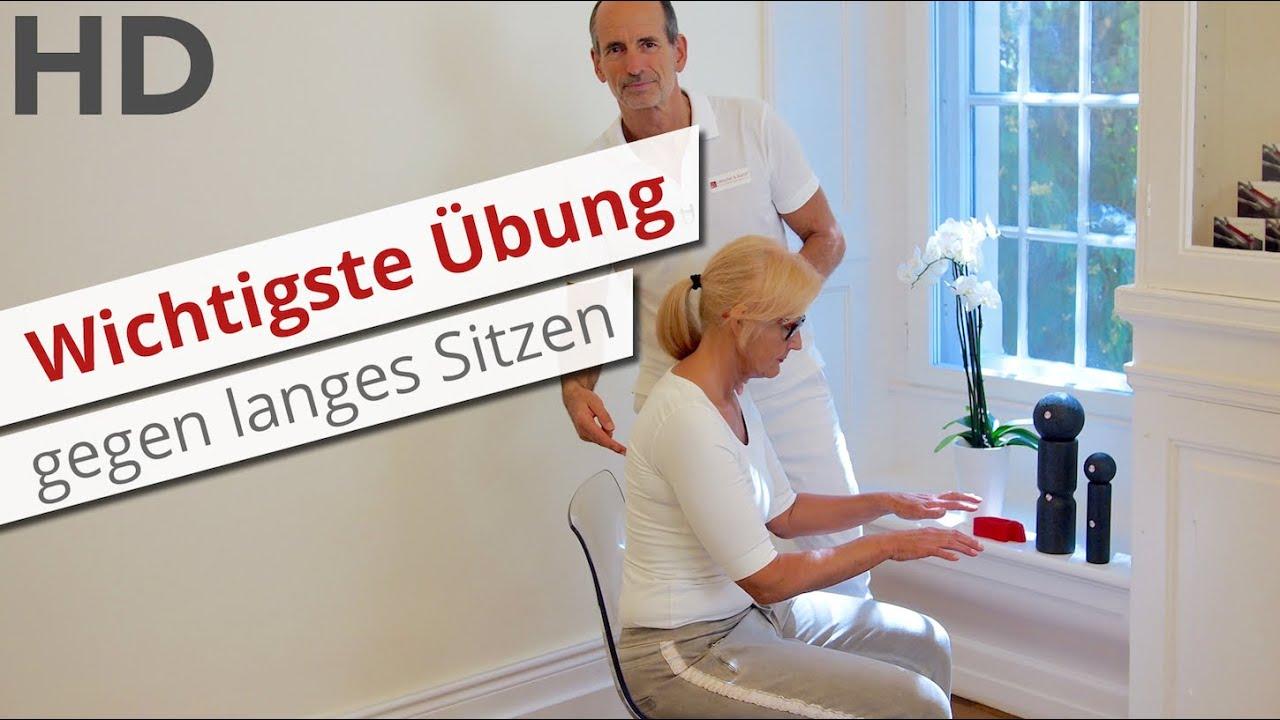 Die wichtigste Übung gegen langes Sitzen   Rückenschmerzen ...