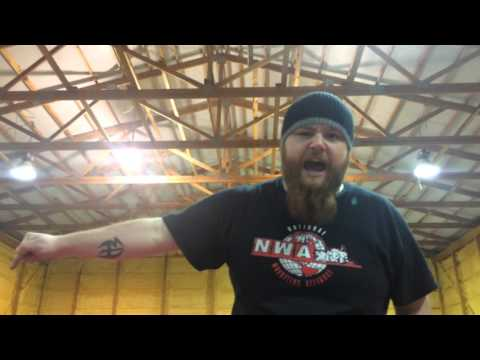 Mr. Indy Nathaniel Adams declares himself the next CCW Heavyweight Champion