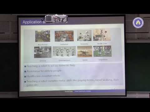 TEQIP course on Introduction to Robotics Lecture 13: Robot Learning by Imitation by Samrat Dutta