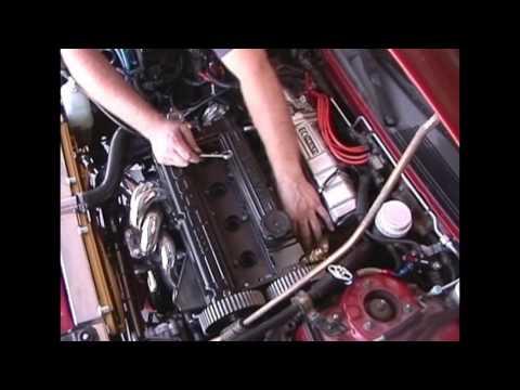 6 bolt 4g63 in 2g Eclipse GSX cylinder head removed in under 10 mins