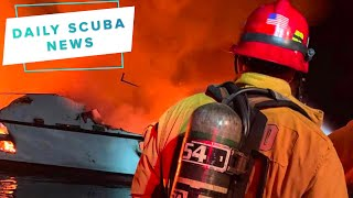Daily Scuba News - California Dive Boat Fire