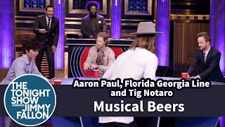 Musical Beers with Aaron Paul, Florida Georgia Line and Tig Notaro