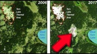 Ha aparecido un nuevo campo térmico en Yellowstone. Informe oficial de USGS