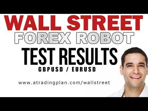 WALL STREET FOREX ROBOT - FX TEST RESULTS  $5000+