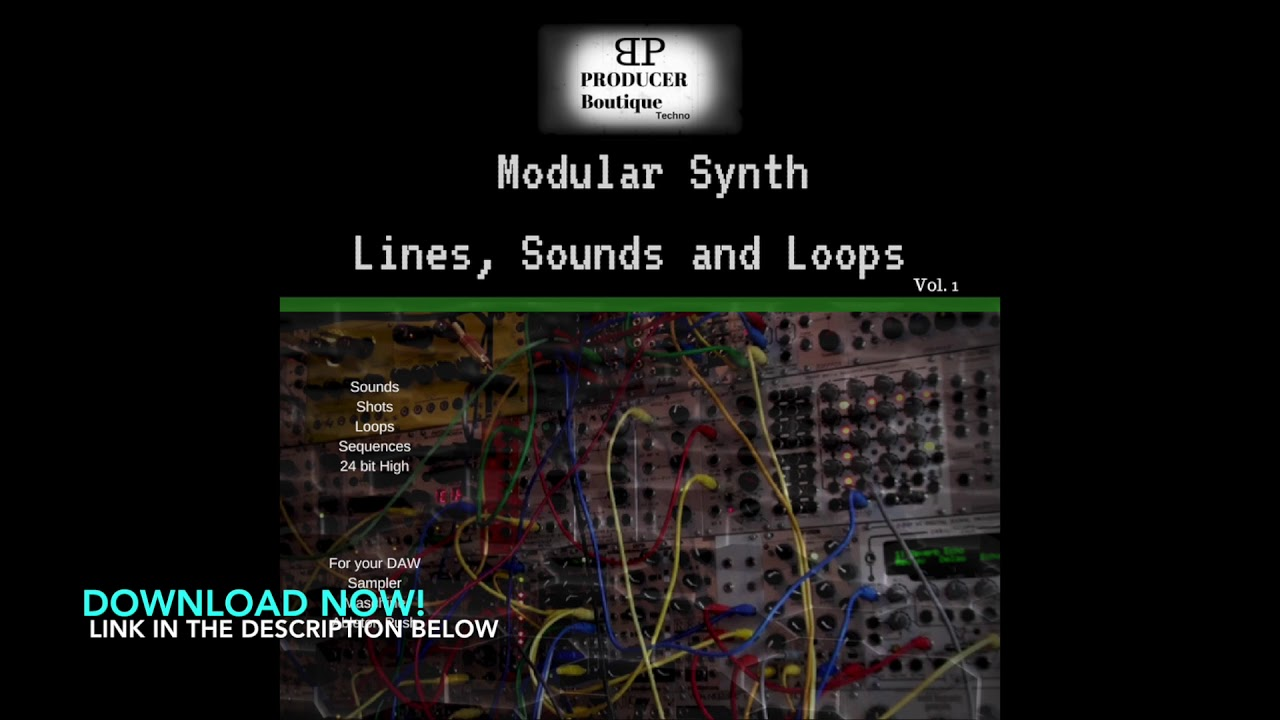 Modular Synthesizer Sample Packs : producer boutique modular synth sample pack youtube ~ Hamham.info Haus und Dekorationen