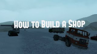 [Roblox | الكهربائية الدولة تعليمي] كيفية بناء متجر