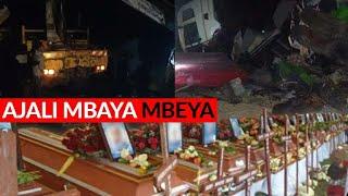 BREAKING: MBEYA Abiria WOTE WAMEFARIKI kufuatia ajali mbaya ya lori na costa usiku wa kuamkia leo