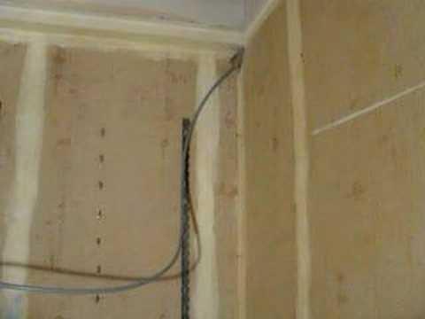 pose mur chauffant sec fibre de bois caleosol eco nat doovi. Black Bedroom Furniture Sets. Home Design Ideas