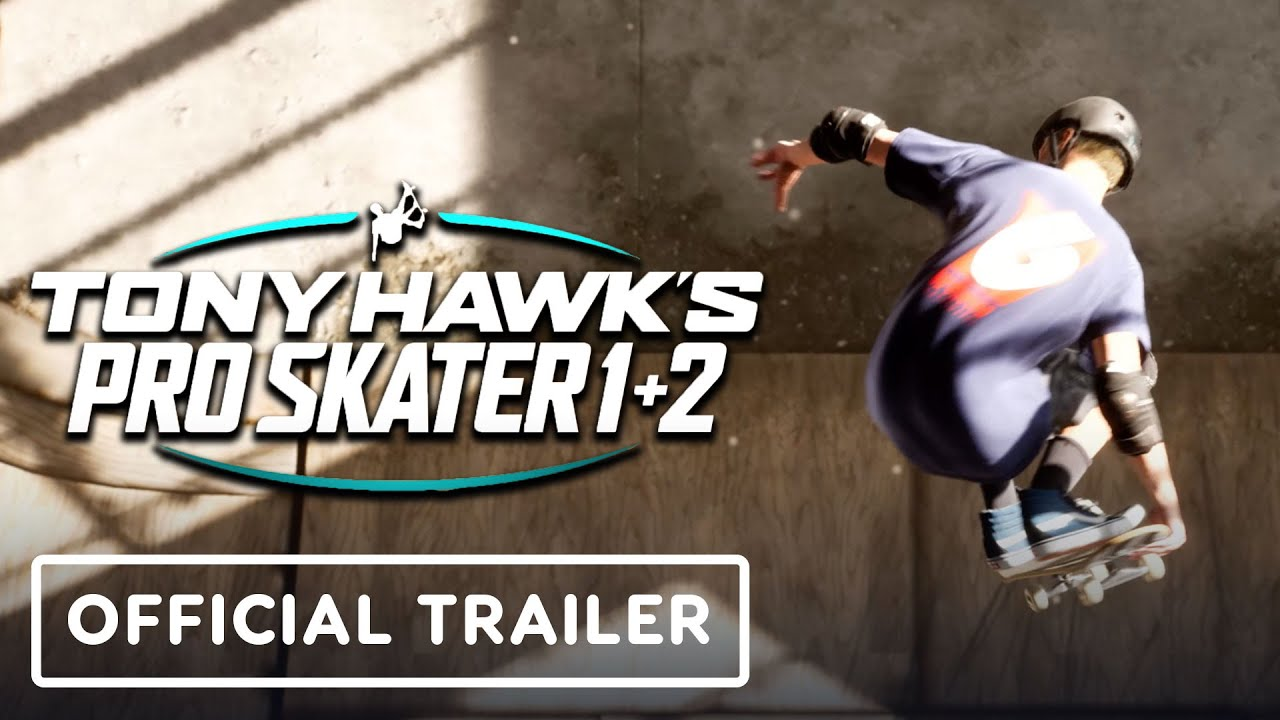 Tony Hawk's Pro Skater 1 and 2 Remaster - Official Announcement Trailer