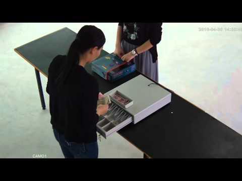 Cash register CCTV system test - 4MP Camera