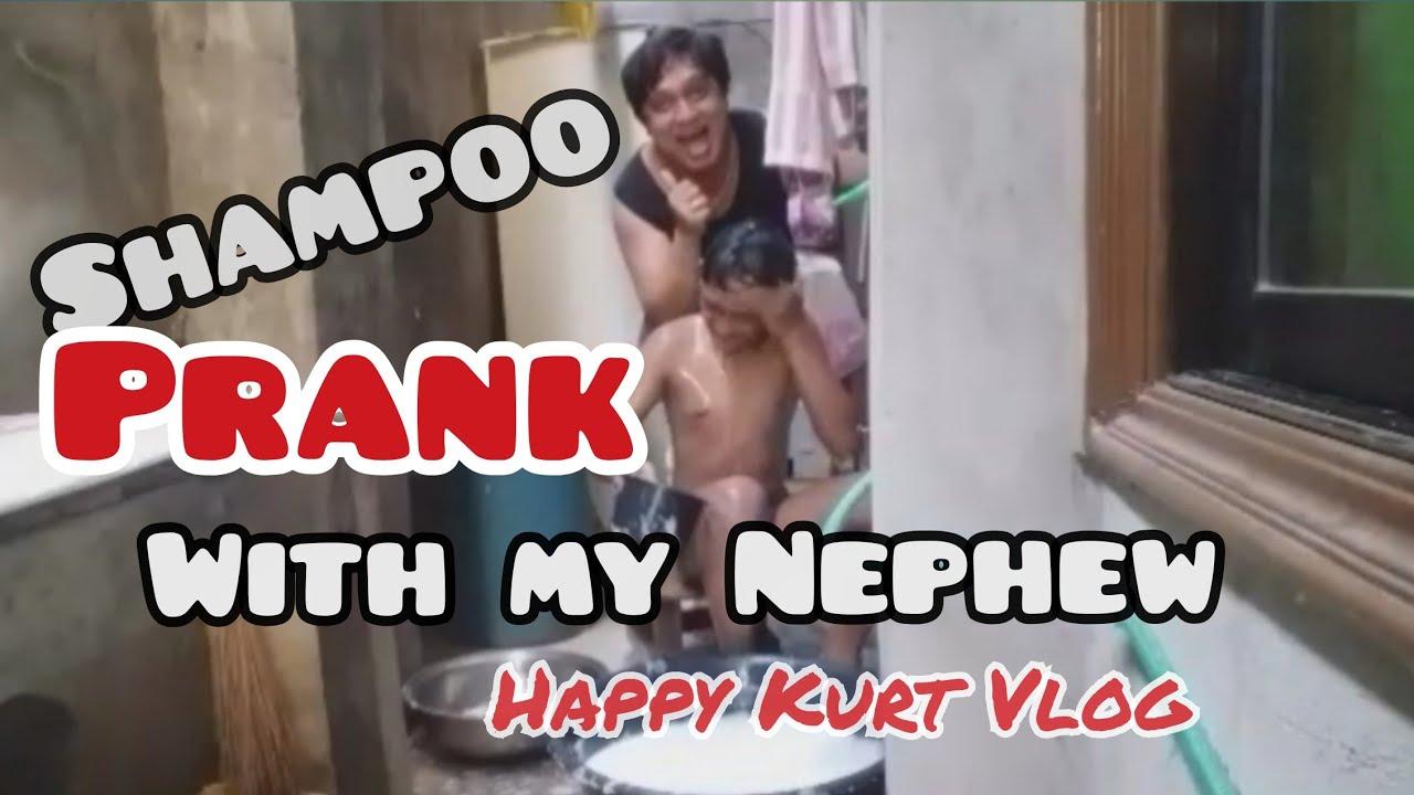 Shampoo Prank with my Nephew