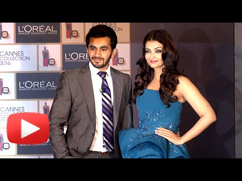 Aishwarya Rai At Loreal Paris Launch of Cannes 2016 Collection