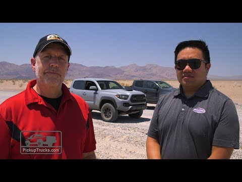 2017 Chevrolet Colorado ZR2 Vs. 2017 Toyota Tacoma TRD Pro