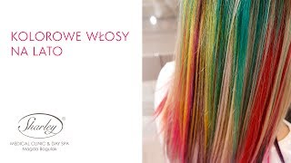 Kolorowe włosy na lato! Farbowanie włosów, kolorowe pasemka, letnie szaleństwo :)