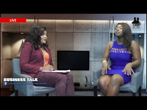 BUSINESS TALK AVEC EVANGELIST CATHY DU CIEL ET GRACIA SUCRE D'OR