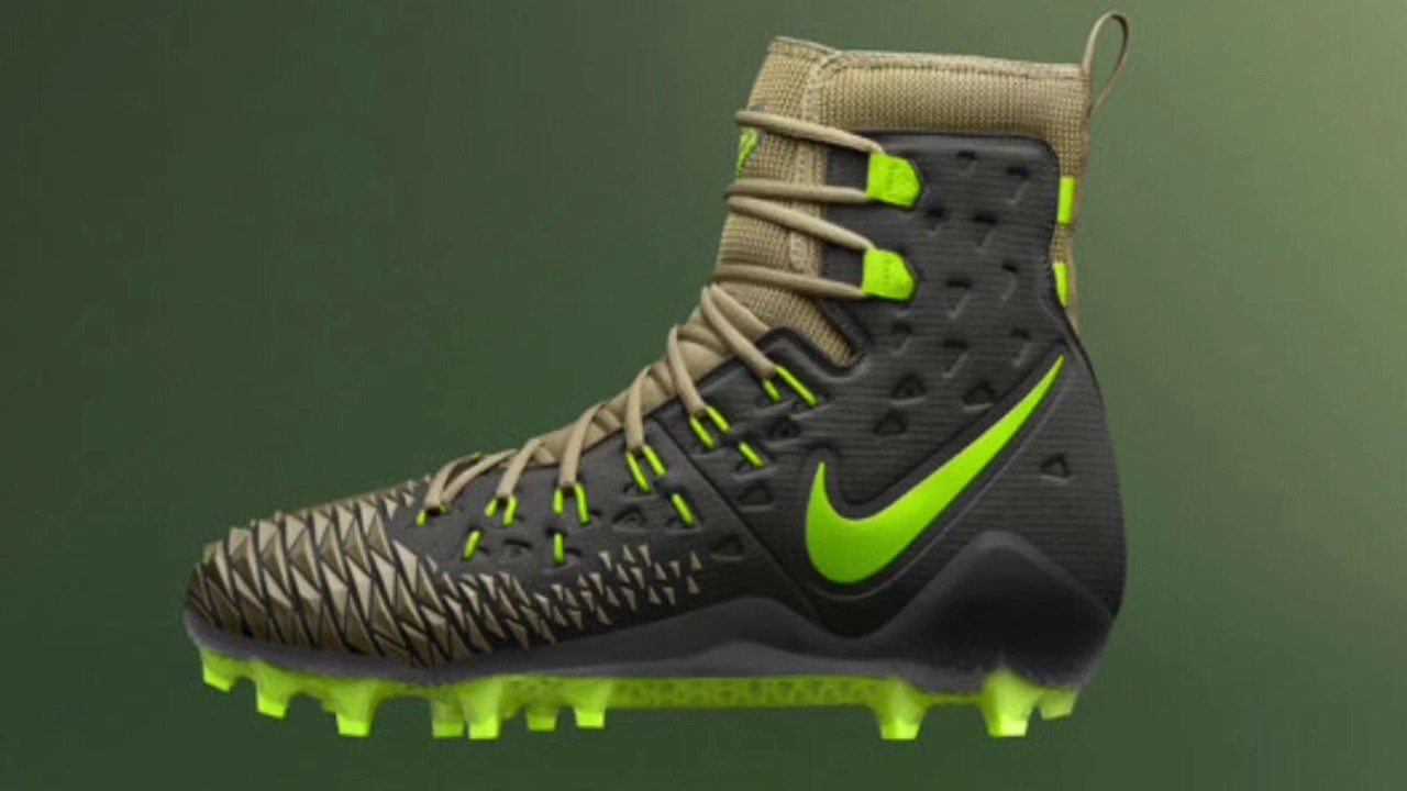 Nike Football Designs New Cleats Specifically For Linemen - YouTube cf3c0b88fdcd