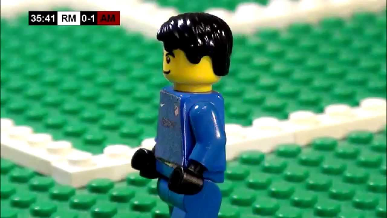 Champions League Final 2014 in LEGO (Real Madrid v ...