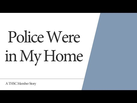 Police Were In My Home - Eulalia Meeks