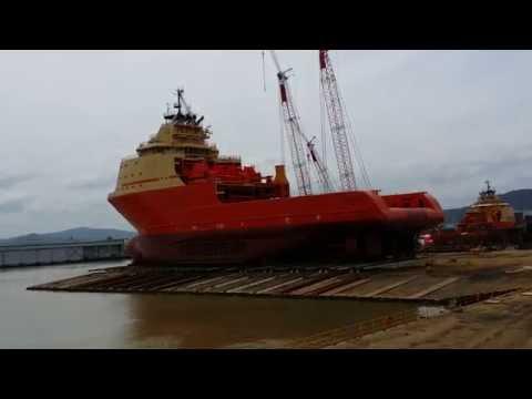 Lançamento Bram TITAN - NAVSHIP