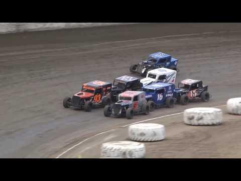 Santa Maria Speedway 8/5/17 Dwarf Car Heat Race #2