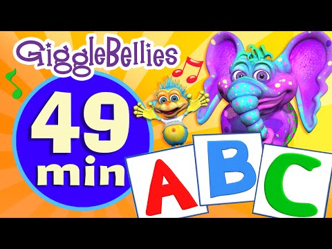 ABC Song  Nursery Rhymes  Alphabet Rhyme  GiggleBellies