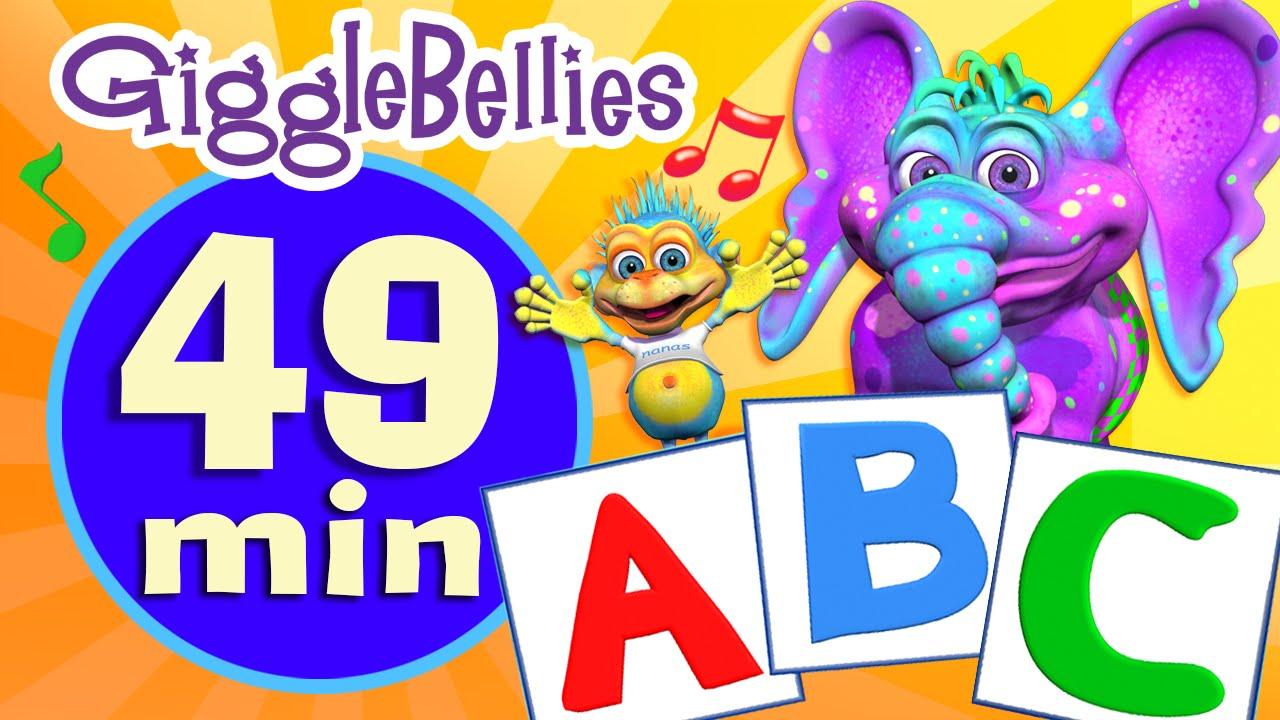 ABC Song | Nursery Rhymes | Alphabet Rhyme by ...