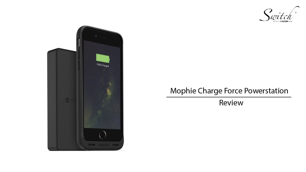 new products 7598e 5e0ed Mophie Charge Force Station Review