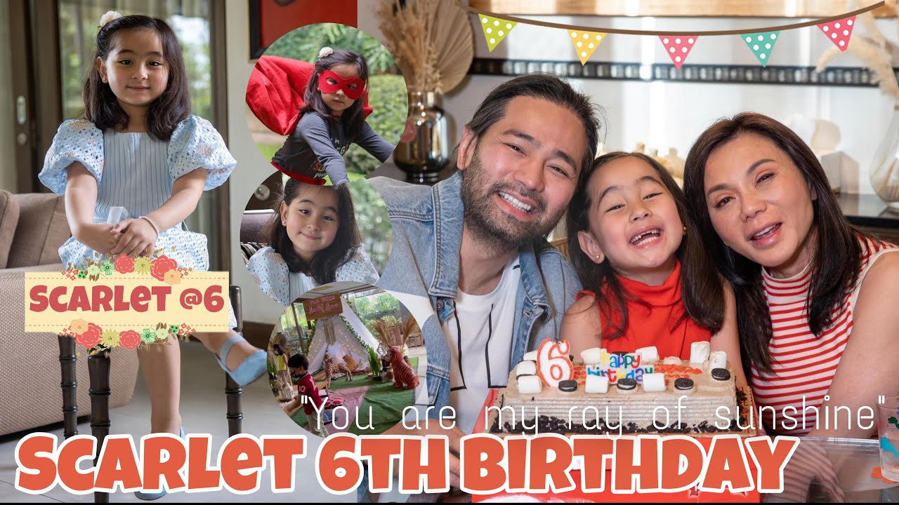 Scarlet Snow 6th Birthday at Home | Vicky Belo Surprises Her Daughter