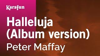 Karaoke Halleluja (Album version) - Peter Maffay *