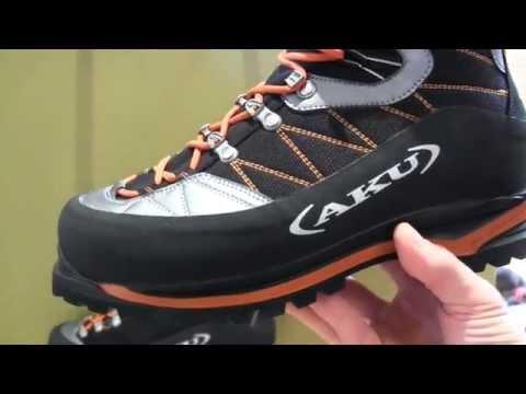 Aku scarpe alpinismo Serai e Yatumine - YouTube bb4a8b93af9